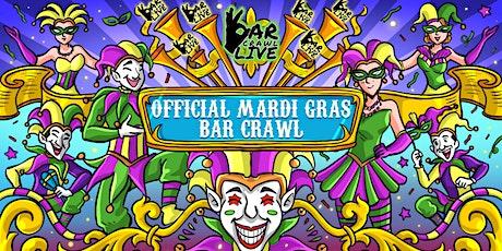 Official Mardi Gras Bar Crawl | Raleigh, NC - Bar Crawl Live tickets