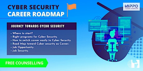 Cyber Security - Career Road Map Counselling tickets