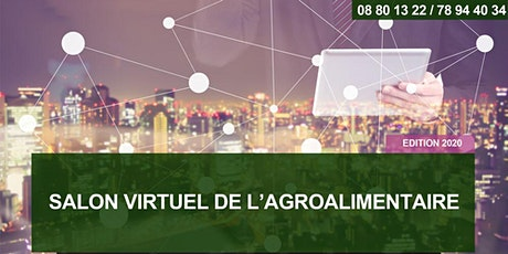 SALON VIRTUEL DE L'AGROALIMENTAIRE - Edition 2020 billets