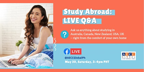 Study Abroad: The #NewNormal (Facebook Live Q&A) tickets