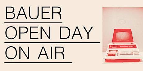 Open Day On Air! - 20 giugno 2020 - corsi annuali biglietti