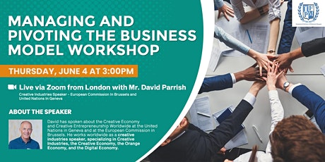 Managing and Pivoting the Business Model Workshop tickets