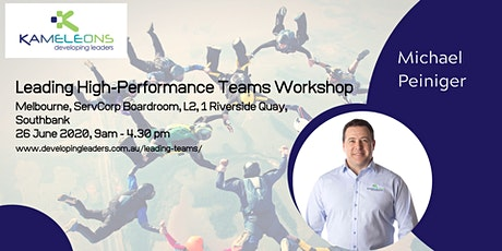 Leading High-Performance Teams - 26 June 2020 tickets
