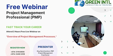 WEBINAR Overview of Project Management Processes tickets