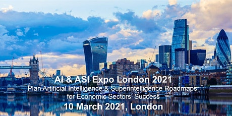 AI & ASI Expo London 2021: www.aisiexpo.com tickets