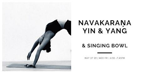 Navakaraṇa Vinyāsa - Yin & Yang + Singing Bowl tickets