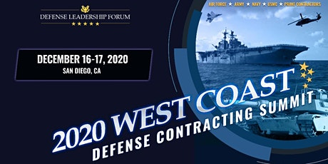 West Coast Defense Contracting Summit 2020 tickets