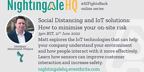 Social Distancing and IoT solutions - How to minimise your on-site risk tickets