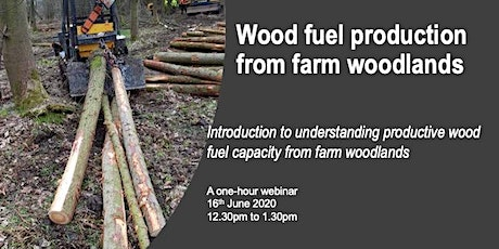 Wood fuel production from farm woods tickets
