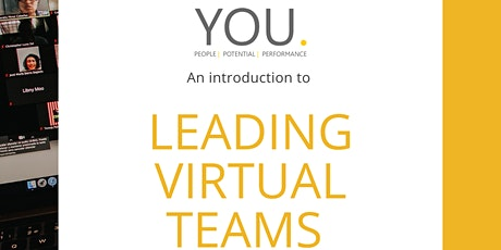 An Introduction to 'Leading Virtual Teams' biglietti