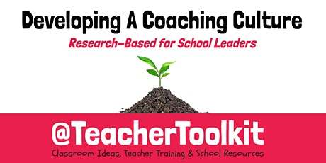 Webinar: Getting Started with Whole-School Coaching tickets
