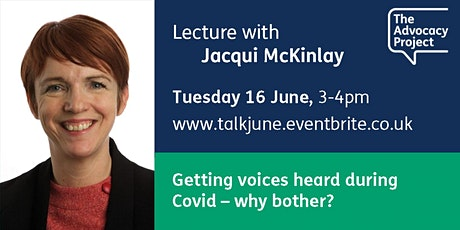 #TAPlectures: Getting voices heard during Covid – why bother? tickets