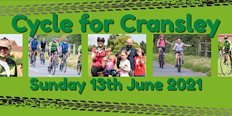Cycle for Cransley 2020 -  POSTPONED to 13th June 2021 tickets