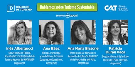 DIÁLOGOS DE TURISMO   Edición en VIVO | Capítulo 1º   28 Mayo | 11:00 hs bilhetes