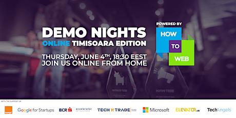Demo Nights Online // Rethink. Restart // Timisoara Edition tickets