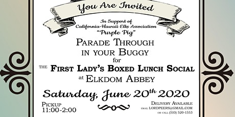 First Lady's Boxed Lunch Social at Elkdom Abbey tickets