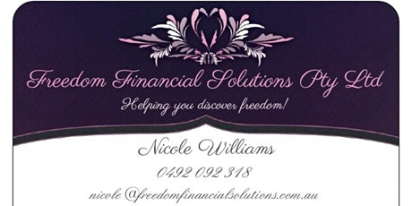 Freedom Financial Solutions Business Launch Event tickets