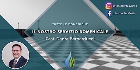 Servizio Domenicale - Primo turno biglietti