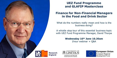 Finance for Non-Financial Managers in the Food Sector tickets