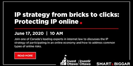 Masterclass - IP Strategy from Bricks to Clicks: Protecting IP Online (Webinar) tickets