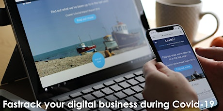 Fast track your digital business during Covid-19 tickets