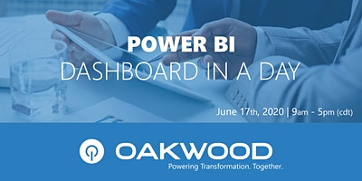 Power BI: Dashboard In A Day