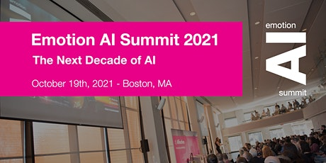 Emotion AI Summit 2021 tickets