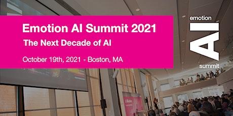 Emotion AI Summit 2021 tickets