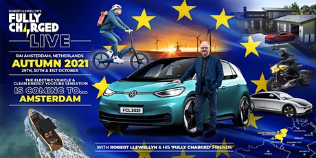Fully Charged LIVE  Europe 2021 tickets