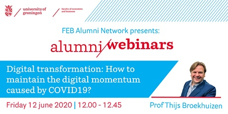 How to maintain the digital momentum caused by COVID19? tickets