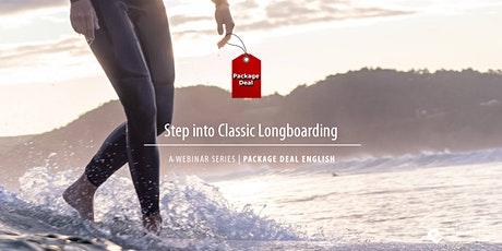Package Deal: Step into Classic Longboarding | ENGLISH | On Demand tickets