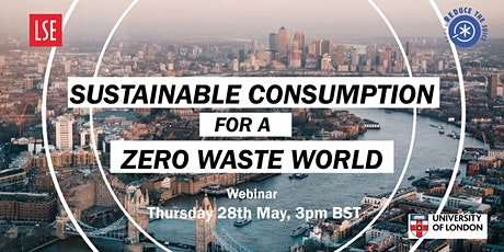 Webinar: Sustainable Consumption for a Zero Waste World tickets