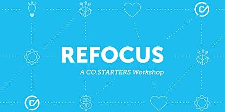 Refocus Workshop tickets