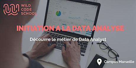 Online Tech Workshop:Atelier d'initiation Data-Wild Code School Marseille billets