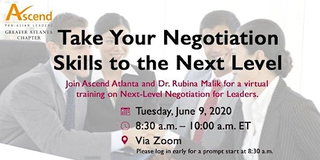 Take Your Negotiation Skills to the Next Level tickets