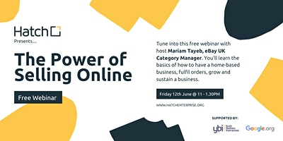 The Power of Selling Online with Mariam Tayeb, eBay UK Category Manager