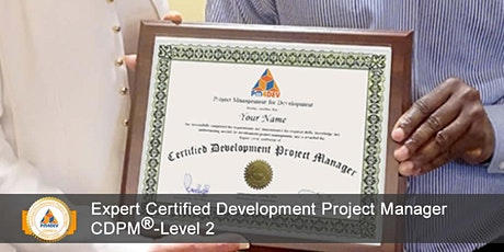CDPM-II: Expert Certified Development Project Manager, Level 2 (S5) tickets
