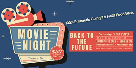 GSBJJ Charity Drive-In Movie Night : Back To The Future tickets