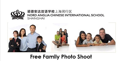 After School Family Photoshoot Nord Anglia Chinese
