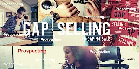 Gap Selling Prospecting Webinar Training tickets
