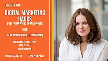 Digital marketing hacks! How to grow your business