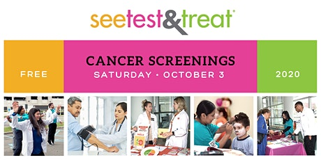 See Test and Treat 2020 - Cancer Screenings tickets