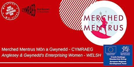 Covid-19: Merched Mentrus Mon a Gwynedd - Sgwrsio CYMRAEG tickets