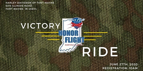 Victory Ride - Rescheduled tickets