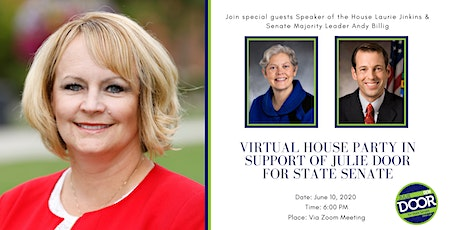 Virtual House Party with Speaker Jinkins and Sen. Majority Leader Billig tickets