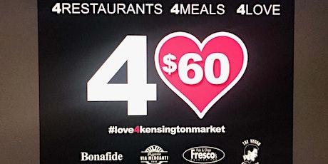 For the love of Kensington Market. Week 1 tickets