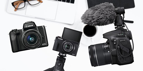 Better Video Online with Canon Cameras - ONLINE tickets