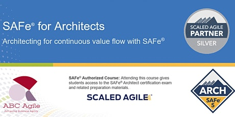 SAFe for Architects (5.0) Tickets