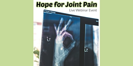 Addressing Joint Pain with Regenerative Medicine - Live Webinar tickets