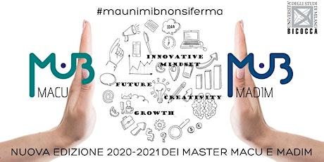 VIRTUAL OPEN DAY MASTER MAUNIMIB -  8 luglio 2020 biglietti